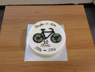 Recyke-a-bike's 10th birthday