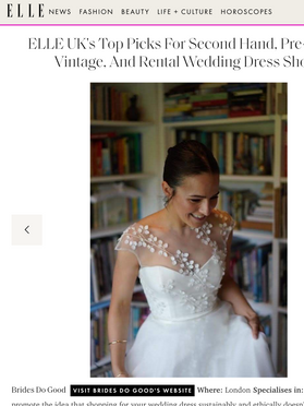 Best Second Hand Wedding Dresses