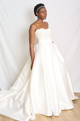 Wedding separates a line skirt