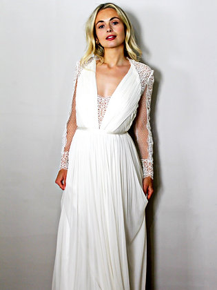 Catherine Deane boho wedding dress