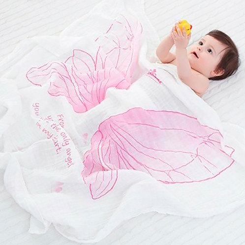 Manta Asas para bebê de algodão