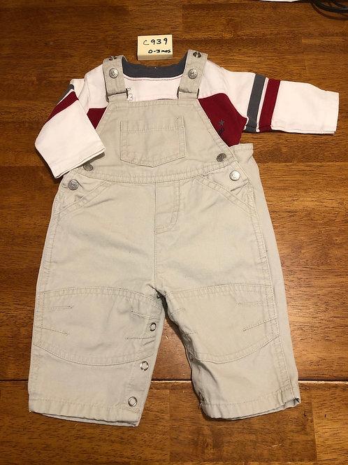 Children's overall set