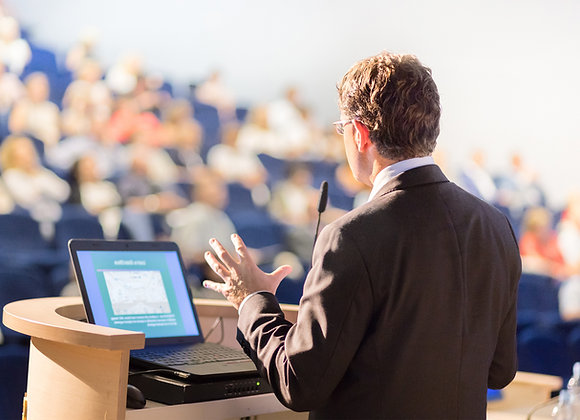 Keynote Speaking, Consulting,  and Training Engagements
