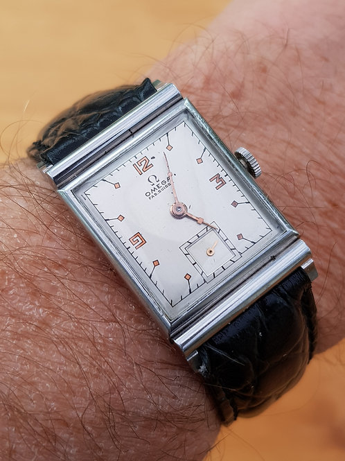 1941 Omega Ultra Flat Wristwatch