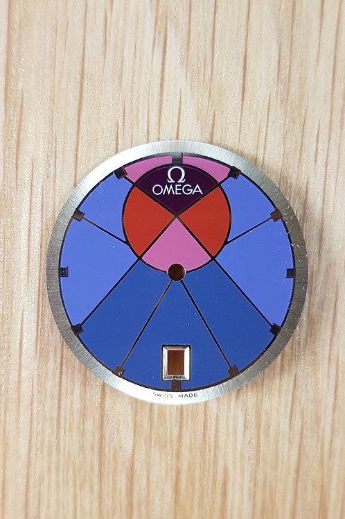 "Omega Symbol ""Ying Yang"" Dial Mens Mint"