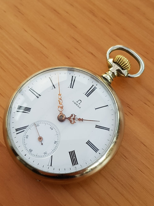 1898 Omega Pocket Watch