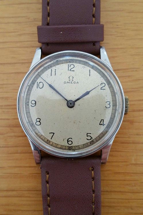 1930s Omega Medicus Stainless Steel Case