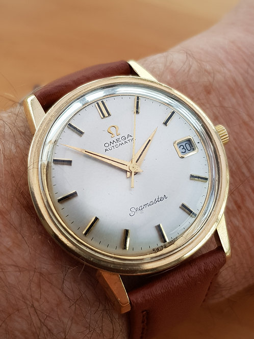 1967 Omega Seamaster 9k Gold