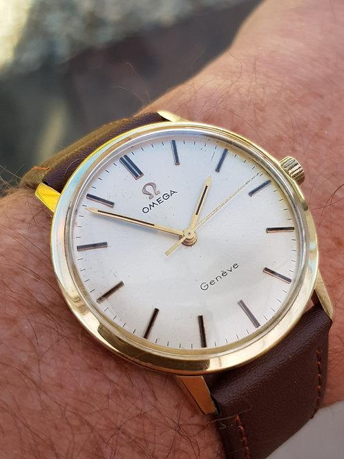 1969 Omega Geneve 14k Gold