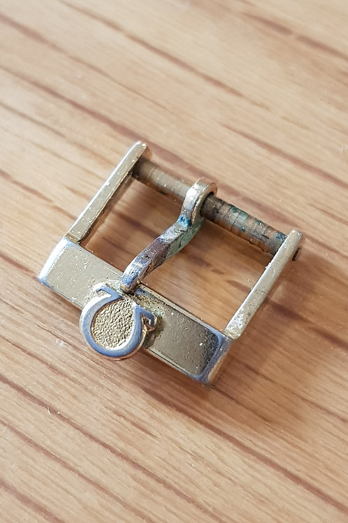 Omega Buckle Gold Plate 12mm