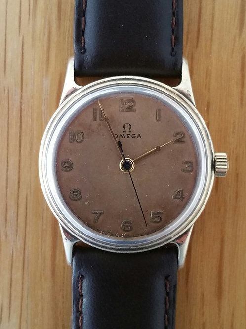 Early 1940s Omega In Gold Filled Case