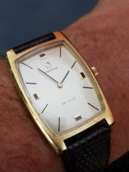1971 Omega De Ville 18k Gold