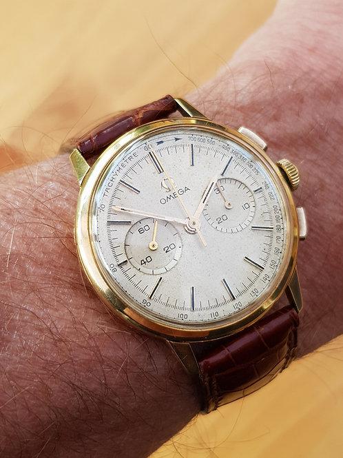 1962 Omega Chronograph 18k Gold