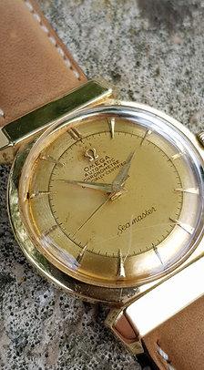 1950 Omega Seamaster 18k Gold