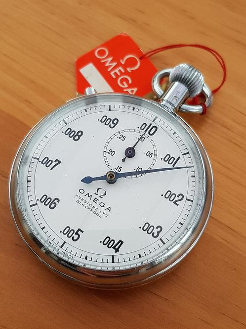 1960s Omega MG1163 Timer 1/10,000th Hour. NOS