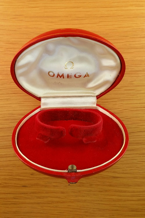 Omega Ladies Red Presentation Box and Outer
