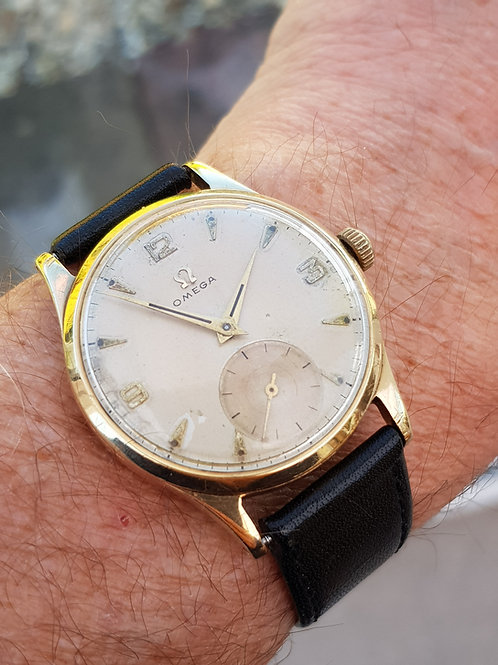 1955 Omega in 9k Gold Case
