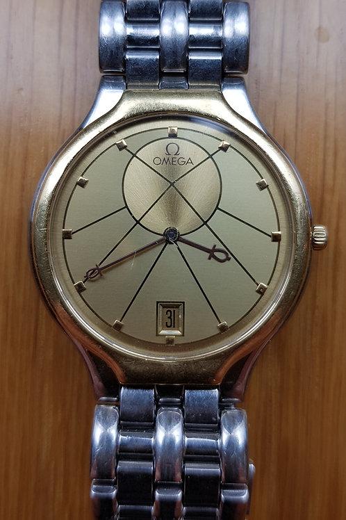"1987 Omega Symbol ""Sun"" Watch"