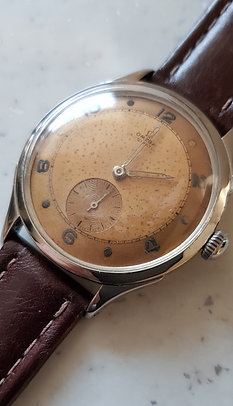 1943 Omega Automatic. Desirable Patina