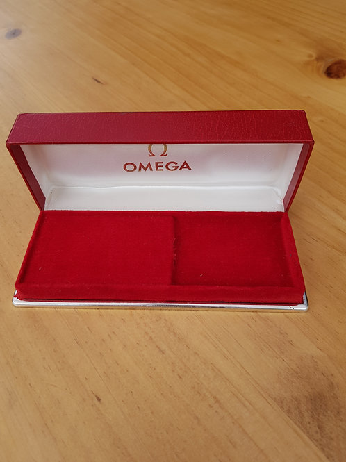 Omega Red Watch Box