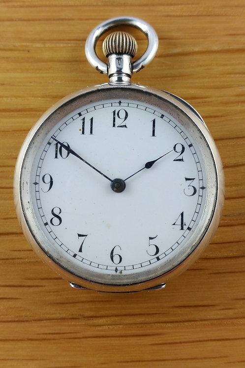 Pre 1907 Ladies Omega Silver Pocket Watch