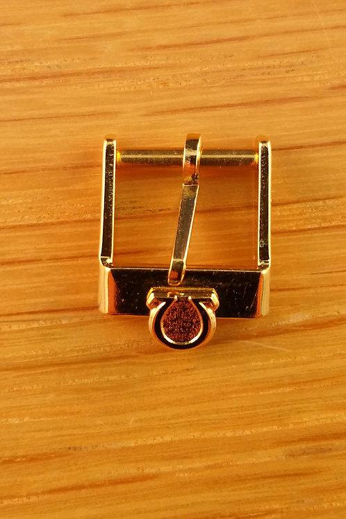 Omega Vintage Gold Coloured Buckle 10mm