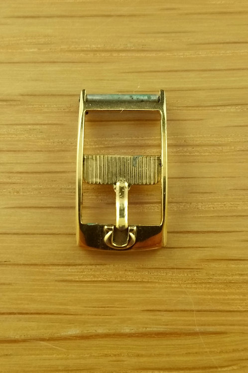 Vintage Used Omega Gold Plate Buckle 10mm