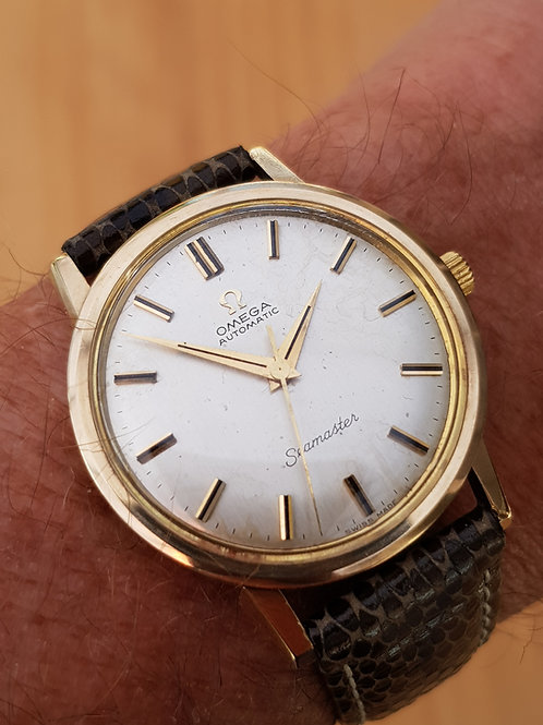 1965 Omega Seamaster 9k Gold