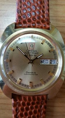 1970s Omega Geneve F300Hz Chronometer