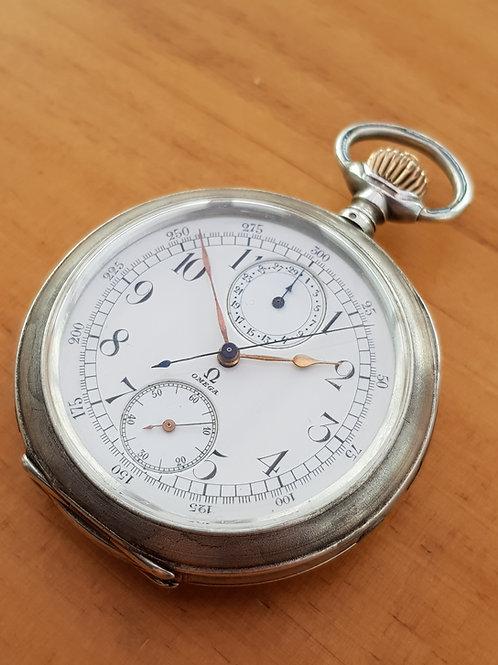 1900 Omega Pocket Watch Chronograph