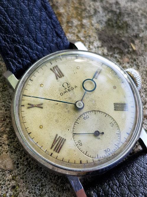 1940 Omega 30T2 Superb Pontife Hands