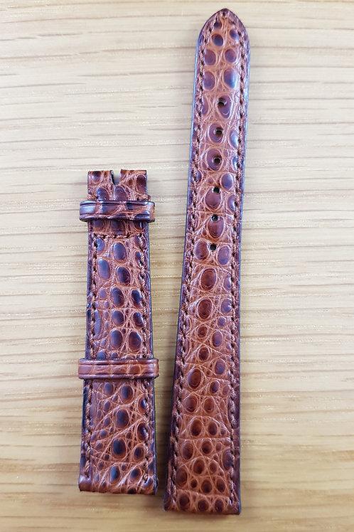 Ladies Omega Aligator Watch Strap 15mm Lugs