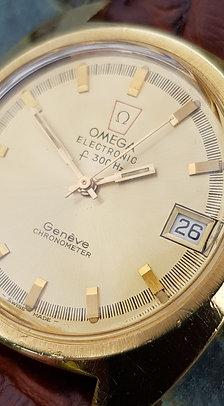 1972 Omega Geneve F300Hz Chronometer