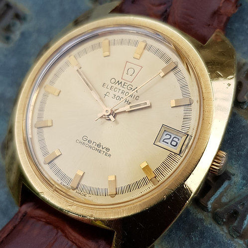1972 Omega Geneve F300Hz Chronometer