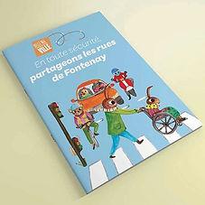 """Illustratrions pour le livret """"ville 30"""" pour la ville de Fontenay-sous-Bois"""