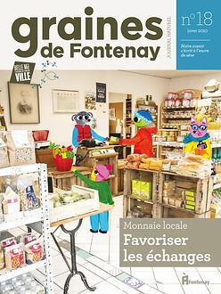 Illustration pour le magazine écologique de la ville de Fontenay-sous-Bois