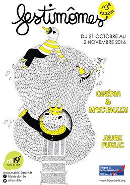 Affiche pour la Mairie du 19e, Paris