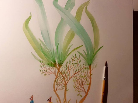 Mes illustrations à venir prochainement sur le site !!