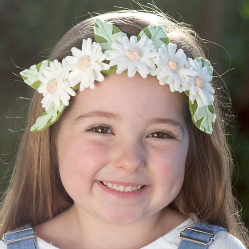 'Spring Daisy' Flower Crown