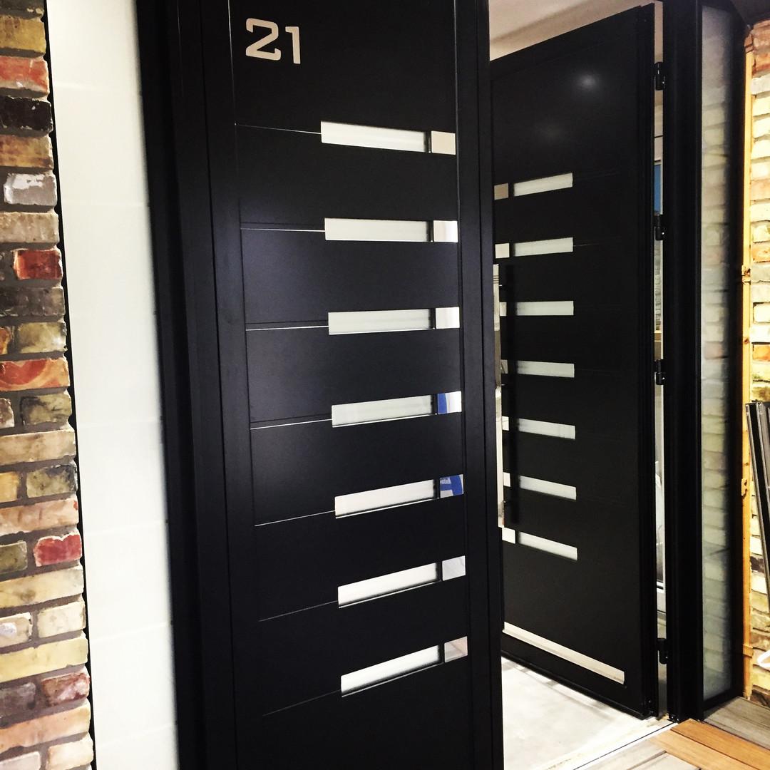 Front Door - aluminum
