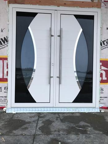 Front Door white - aluminum