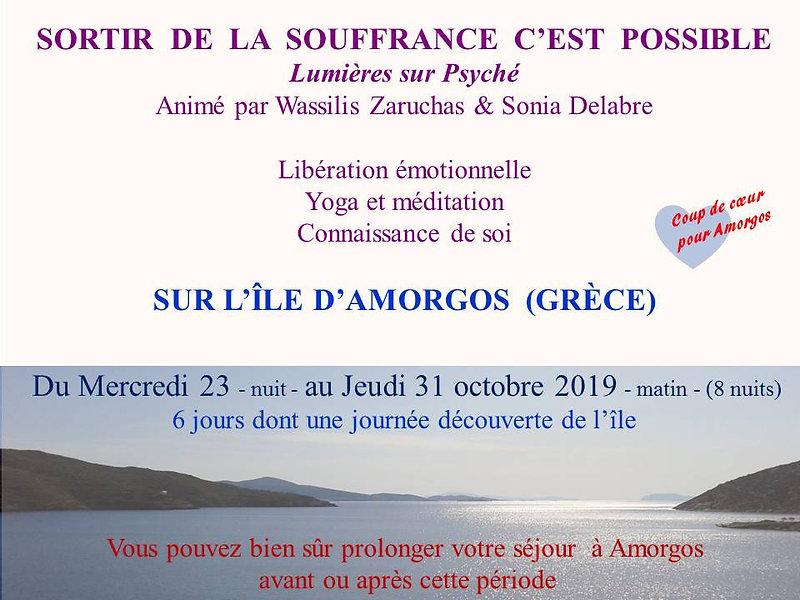 Sémoinaire Yoga et Thérapie co-animé par Wzssilis Zarouchas et Sonia Delabre