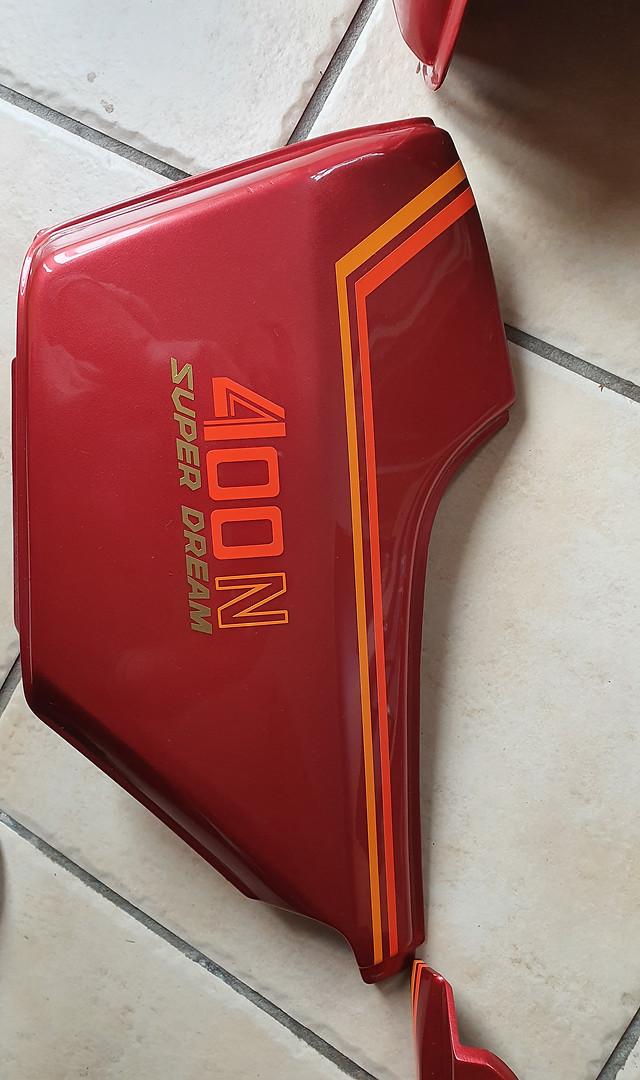 1980 Honda 400N Superdream