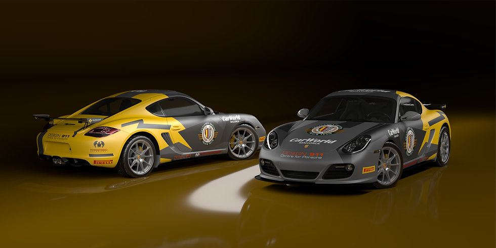 Porsche Cayman S Clubman Livery