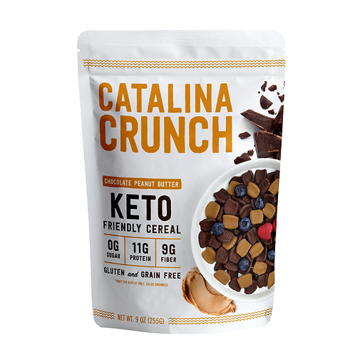Catalina Crunch Chocolate Peanut Butter Cereal