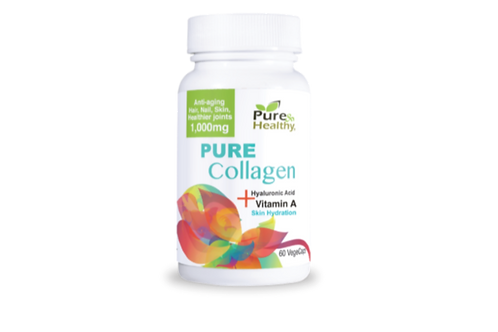 Pure Collagen 60 Vege Caps.