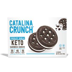 Catalina Crunch Chocolate Vanilla Sandwich Cookie