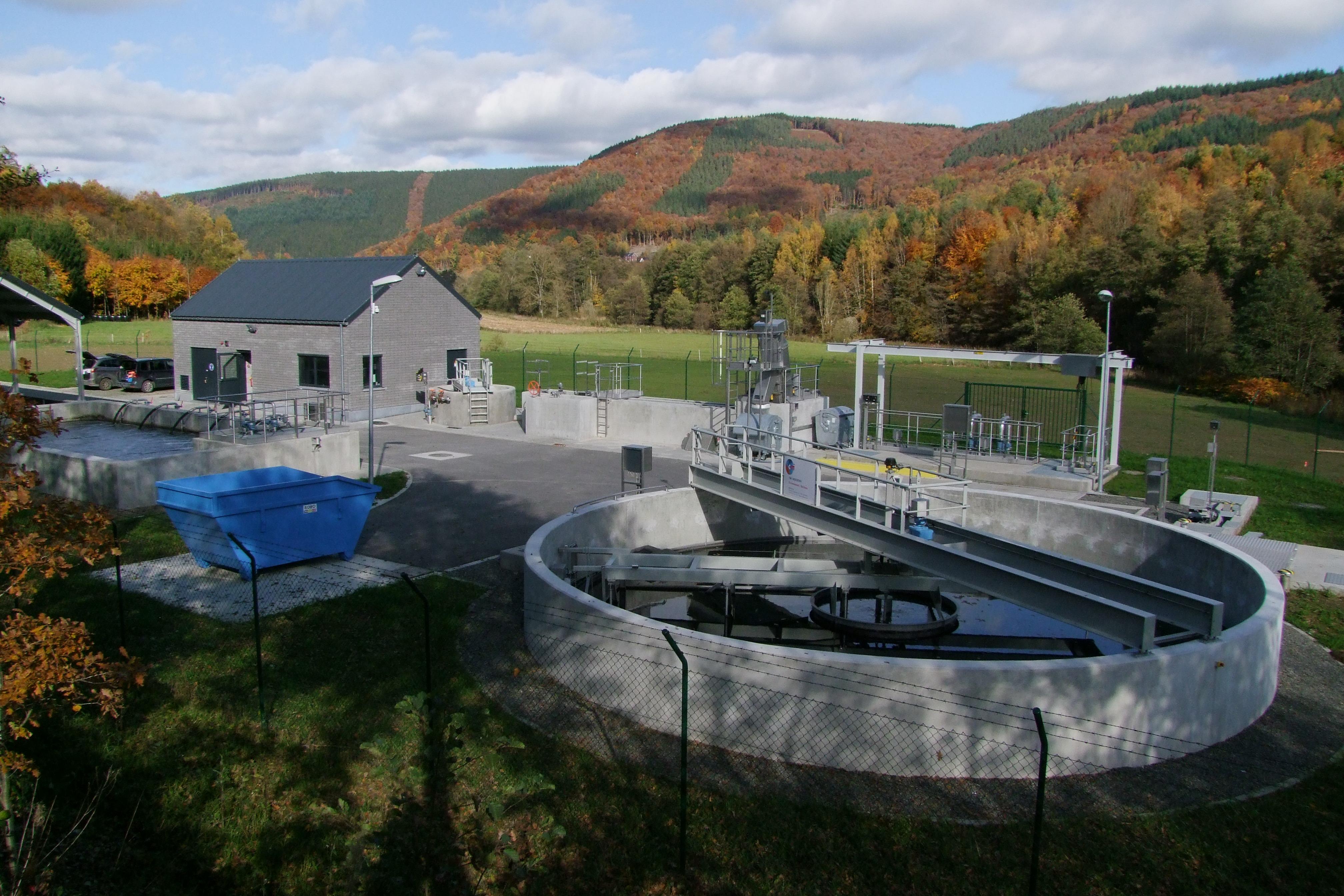 Station d'épuration de Coo