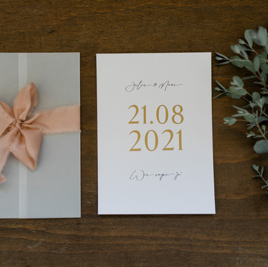 Eukalyptus Einladung