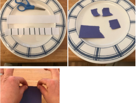 Cutting or Tearing Paper